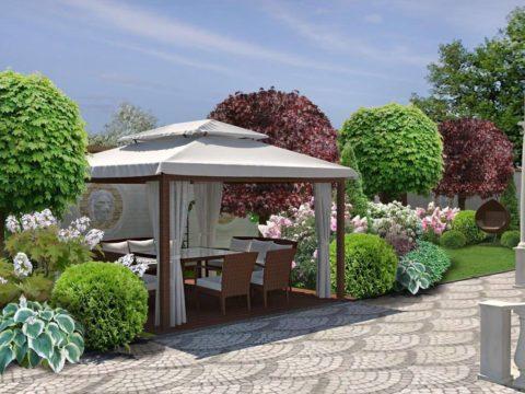 Проектирование территории загородного дома, Адыгея