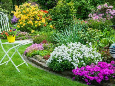Ландшафтный дизайн частного двора круглый год