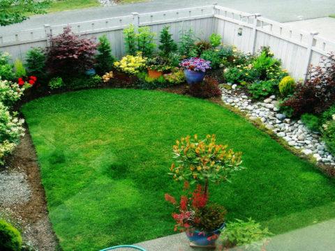 Ландшафтный дизайн в маленьком саду