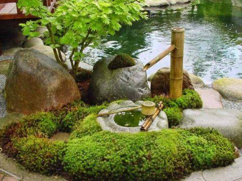 Японский сад-концепция и символизм